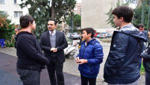 Atila vatandaşla buluştu