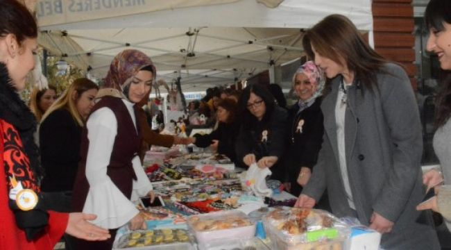 AK Partili kadınlar, 110 kadın üreticiyi bir araya getirdi
