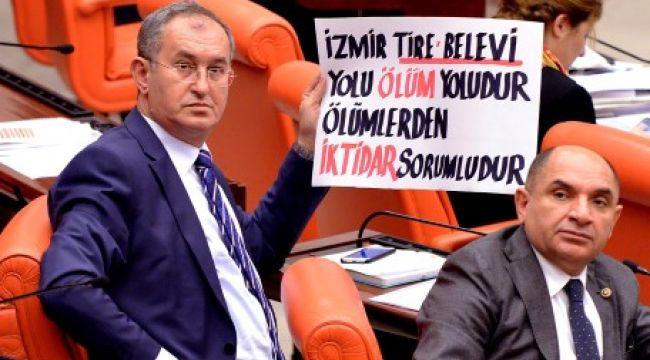 CHP'li Sertel ölüm yolunun peşini bırakmıyor