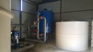 İçme suyu arıtma tesisi kuruldu