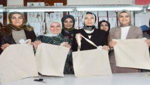 AK Partili kadınlardan destek