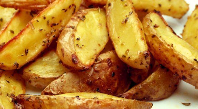 Ebedi zaafımız kızarmış patates!