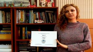 Egeli akademisyene ödül