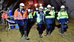 Narlıdere Metrosu'nda 'ilk ışık'