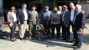 CHP'li Sındır destek istedi