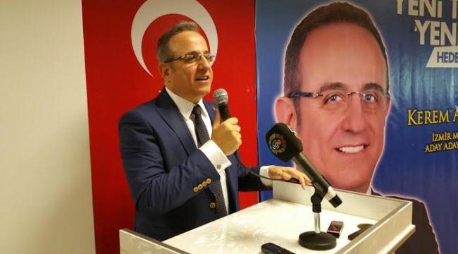 AK Parti İzmir İl Başkanlığı'na Kerem Ali Sürekli atandı