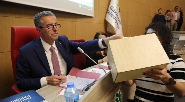 Halil Arda başkanlığında ilk meclis