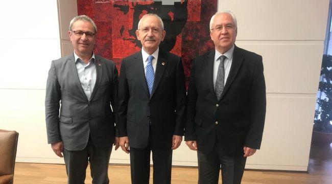 Kılıçdaroğlu'na makamında ziyaret