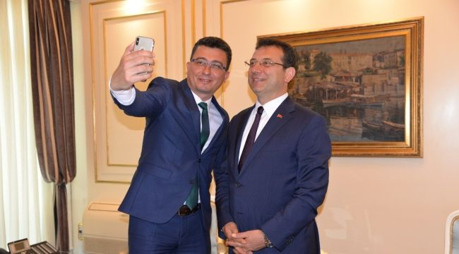 Serdar Aksoy'dan İmamoğlu'na ziyaret!