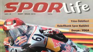 Spor Life Dergisi'nin yeni sayısı çıktı!