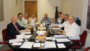 İlk yönetim kurulu toplantısı yapıldı