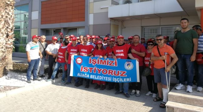 Aliağa Belediyesi'nde işçi kıyımı!