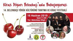 Belenbaşı Kiraz festivali 14'üncü kez başlıyor