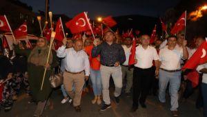 15 Temmuz Demokrasi Meydanı Açıldı