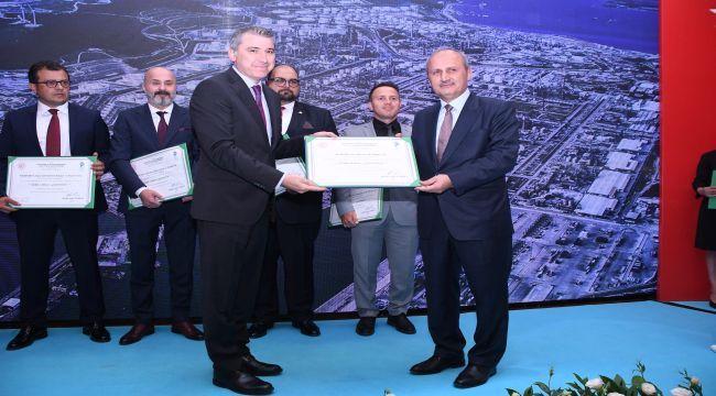 4. Kez Petkim'e Yeşil Liman Sertifikası verildi