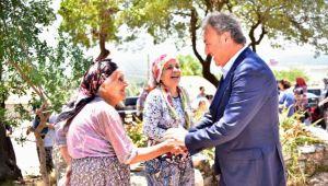 Başkan İduğ Yaka Mahallesi'nde yurttaşlarla buluştu