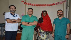 Somalili Amino Tepecik Hastanesi'nde Şifa Buldu