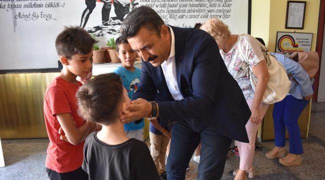 Başkan Kırgöz'den Eğitime Destek