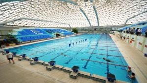EÜ'de Olimpik Kapalı Yüzme Havuzu sezonu açtı