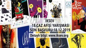 İKSEV 18. Caz Afişi Yarışması