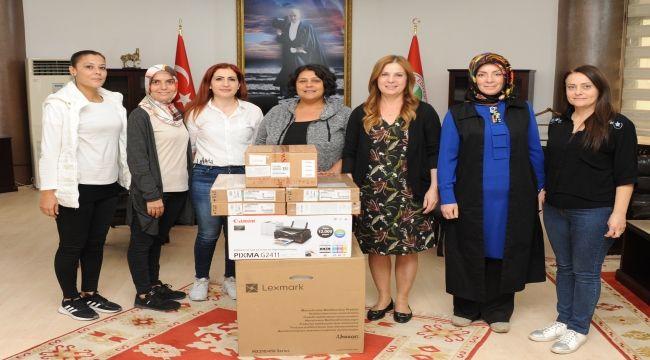 Balçova'da eğitime destek