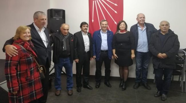 Başkan Batur'dan CHP Belçika Birliği'ne ziyaret