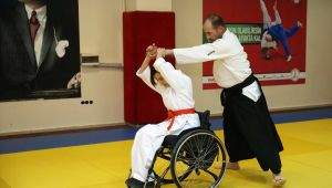 Engel tanımayan aikidocular Azerbaycan'a örnek oldu