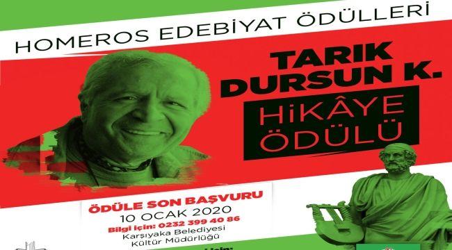 Karşıyaka'dan Homeros Edebiyat Ödülleri