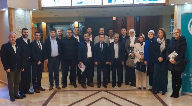 TDED Yeni Yönetimi Toplandı