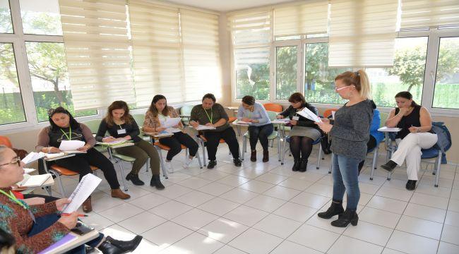 Çiğli'de kadınlar eğitimde