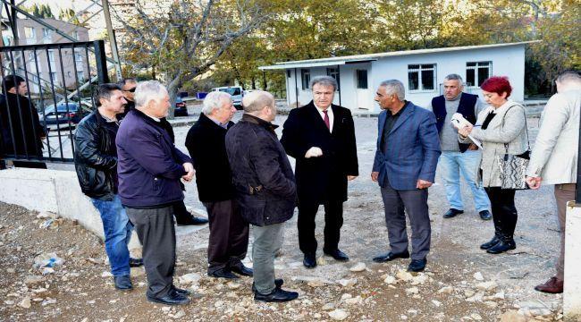 İduğ, Kavaklıdere'de vatandaşlarla buluştu