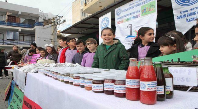 Öğrenciler sağlıklı beslenmeye dikkat çekti