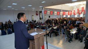 CHP'li Ömer Güney'e büyük ilgi