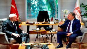 EGİAD'dan Başkan İduğ'a ziyaret