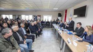 Bergamalı 137 muhtara Büyükşehir'in projeleri anlatıldı