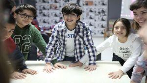 Bornovalı çocukların film tutkusu
