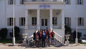 Egelilerden dağ bisikleti yarışmasında önemli başarı