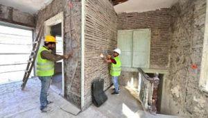 Pazaryeri'nde restorasyon çalışmaları sürüyor