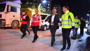 Torbalı'da belediye tedbiri elden bırakmıyor
