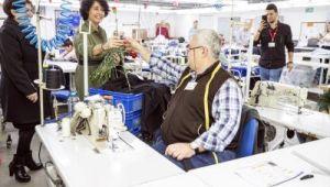 Tunç Soyer Roteks Tekstil'de kadınlarla bir araya geldi