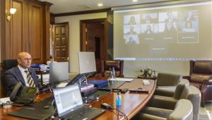 Başkan Soyer Birinci Uluslararası Çevrimiçi Forumu'nda konuşmacı oldu