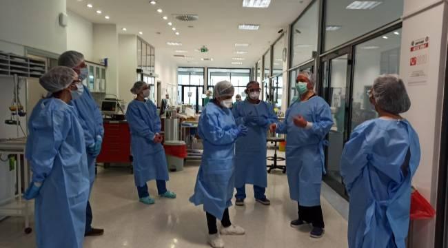 EÜ'de koronavirüs eğitimi alan Azerbaycanlı doktorlar ülkelerine döndüler