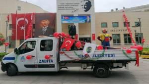 Tire Belediyesi'nden Çocukları mutlu eden sürpriz
