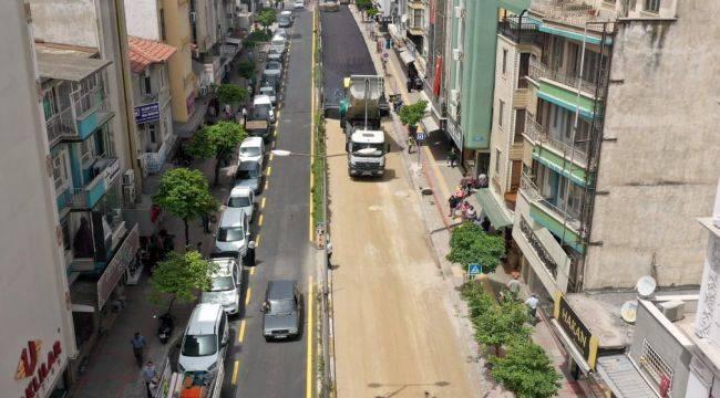 Aydın Büyükşehir sıcak asfalta devam ediyor