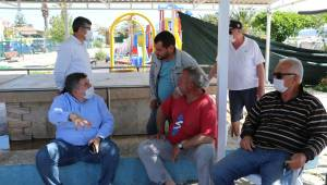 Başkan Oran balıkçılarla bir araya geldi