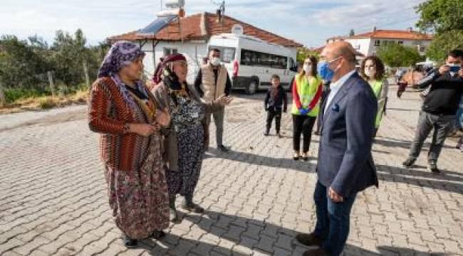 Başkan Soyer Kınık'ı ziyaret etti
