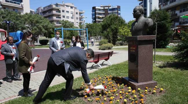 Başkan Tugay, Haydar Aliyev'i unutmadı