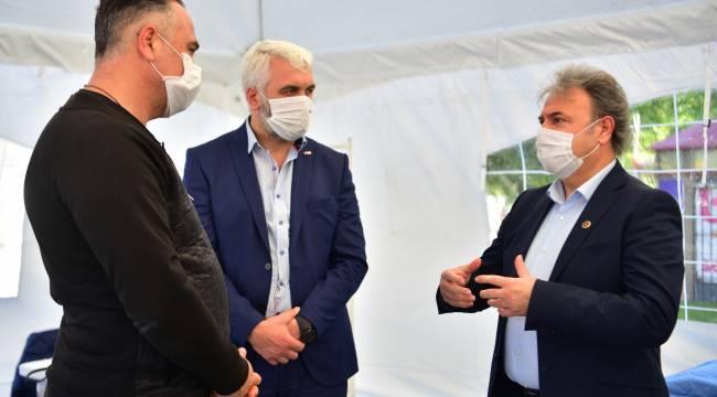 Bornova Belediyesi ve Türk Kızılay'dan ortak bağış kampanyası