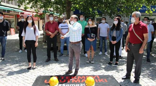 CHP'nin Gençleri Soma Faciasını Unutmadı