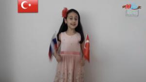 Gaziemir Belediyesi'nden Rusya'ya dostluk şarkısı